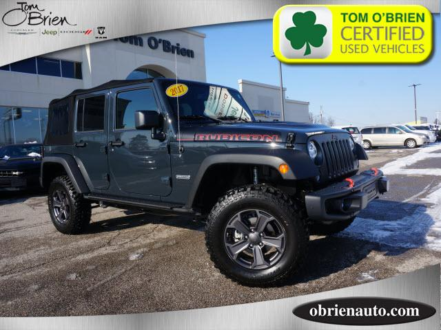 Pre Owned 2017 Jeep Wrangler Unlimited Rubicon Recon 4x4