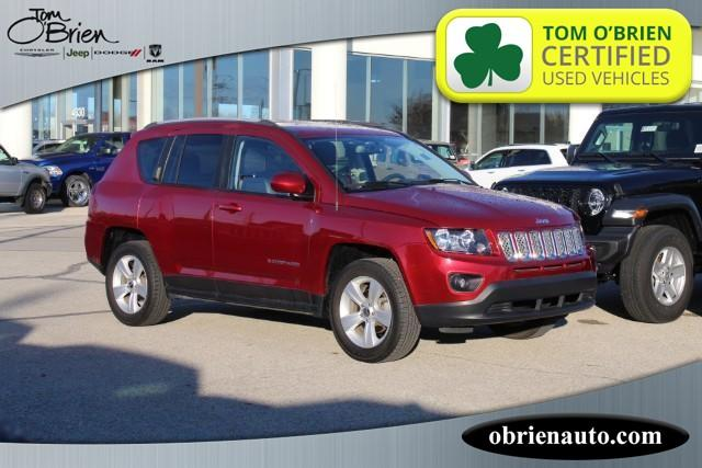 Pre-Owned 2017 Jeep Compass Latitude 4x4 *Ltd Avail*
