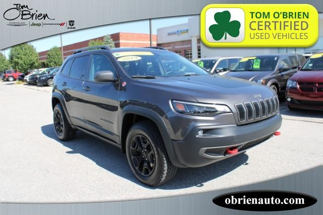 Pre-Owned 2019 Jeep Cherokee Trailhawk Elite 4x4