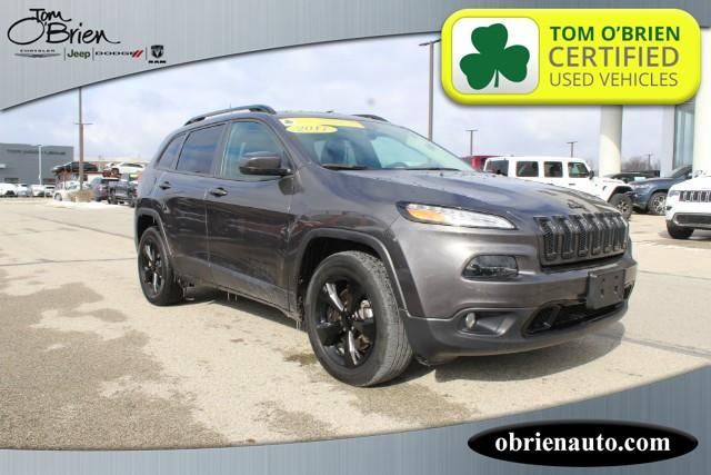 Pre-Owned 2017 Jeep Cherokee High Altitude 4x4 *Ltd Avail*