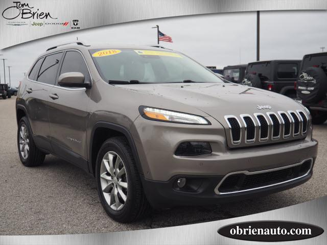 Pre-Owned 2018 Jeep Cherokee Limited 4x4