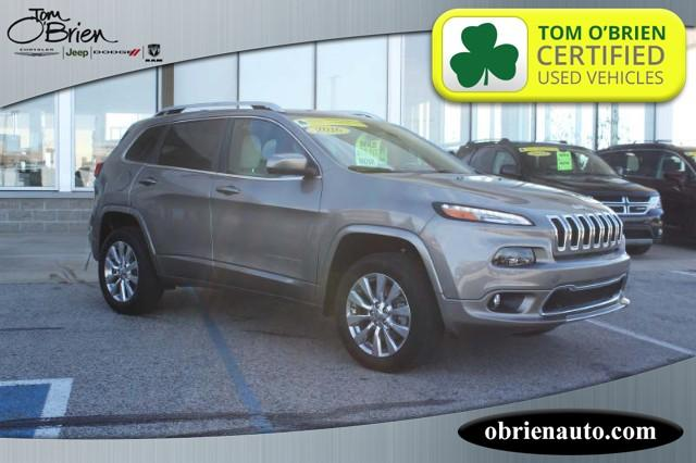 Pre-Owned 2016 Jeep Cherokee 4WD 4dr Overland