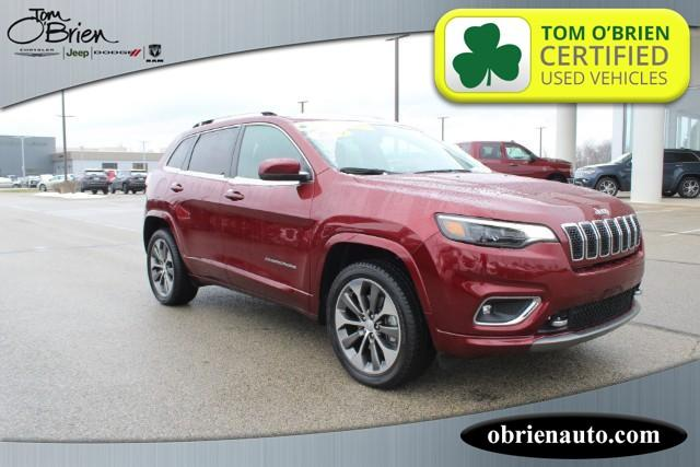 Pre-Owned 2019 Jeep Cherokee Overland 4x4