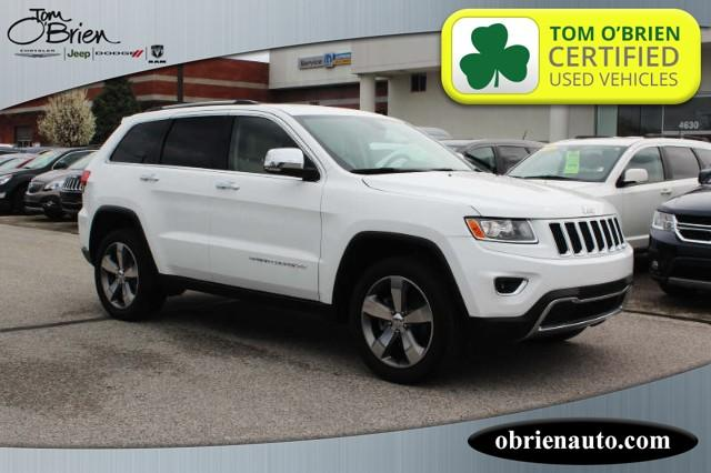 Pre Owned 2016 Jeep Grand Cherokee 4wd 4dr Limited