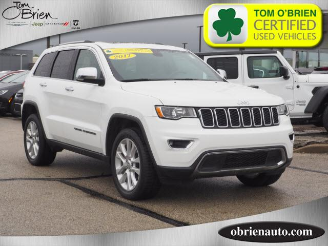 Pre Owned 2017 Jeep Grand Cherokee Limited 4x4