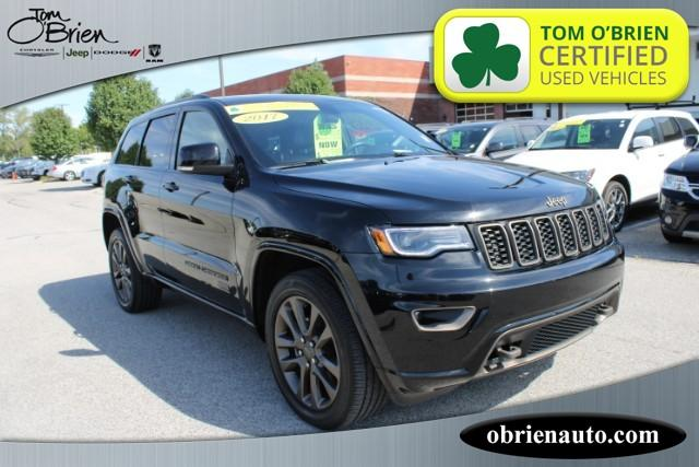 Pre-Owned 2017 Jeep Grand Cherokee Limited 75th Anniversary Edition 4x