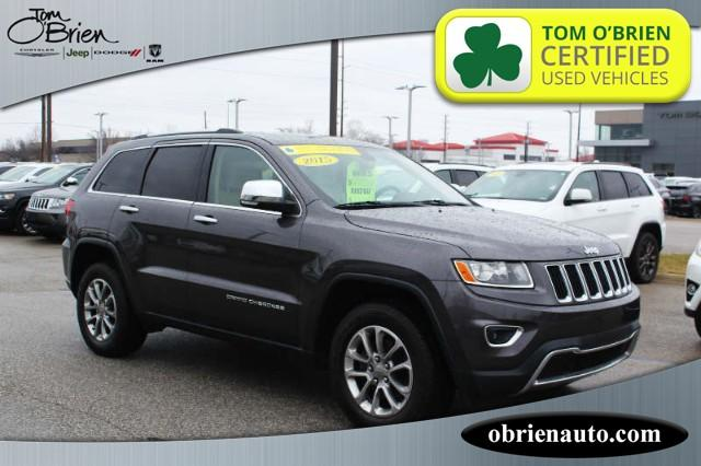 Pre-Owned 2015 Jeep Grand Cherokee 4WD 4dr Limited
