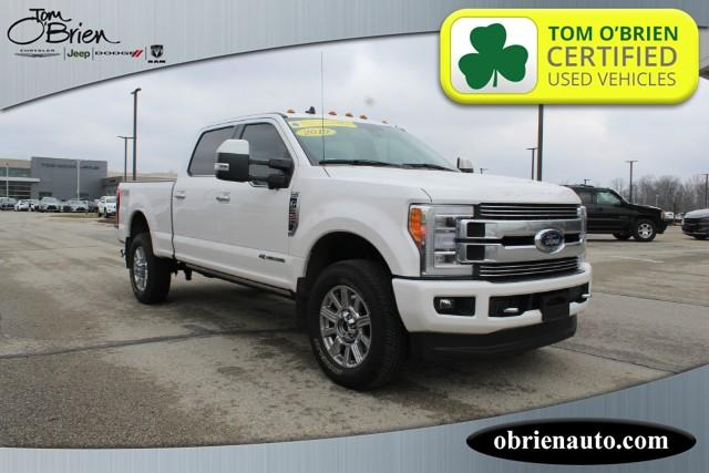 Pre-Owned 2019 Ford Super Duty F-350 SRW Limited 4WD Crew Cab 6.75' Box