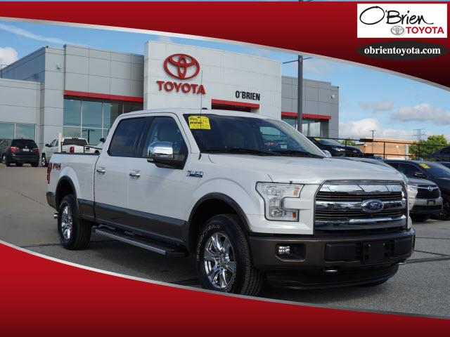 Pre-Owned 2015 Ford F-150 4WD SuperCrew 157 Lariat