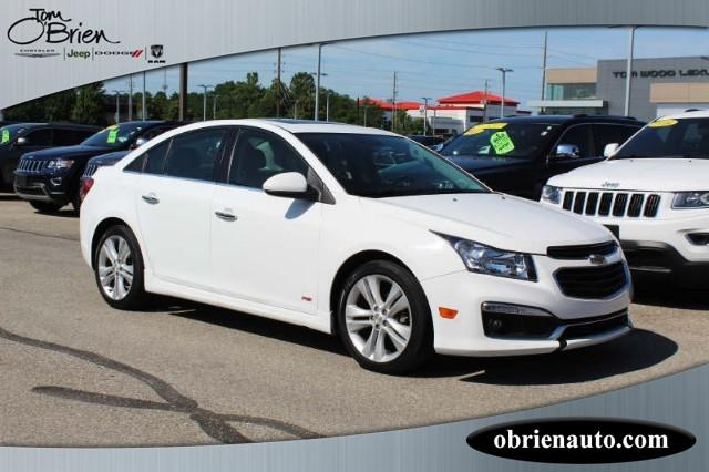 Pre-Owned 2015 Chevrolet Cruze 4dr Sdn LTZ