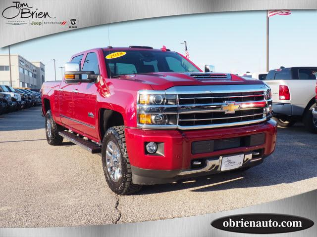 Pre-Owned 2018 Chevrolet Silverado 3500HD 4WD Crew Cab 153.7 High Country