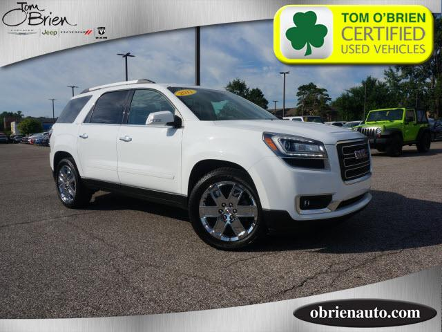 Pre Owned 2017 GMC Acadia Limited AWD 4dr Limited