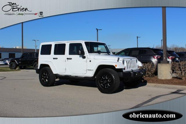 Pre-Owned 2011 Jeep Wrangler Unlimited 4WD 4dr Mojave