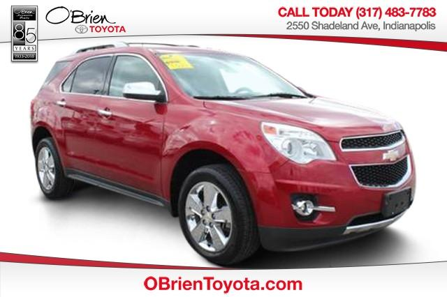 Pre-Owned 2012 Chevrolet Equinox FWD 4dr LTZ