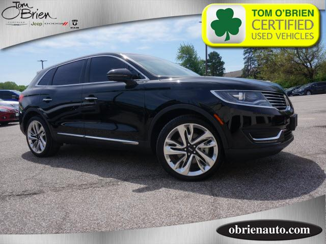 Pre-Owned 2017 Lincoln MKX Reserve AWD