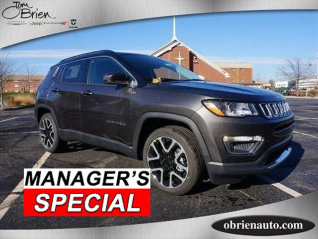 Pre-Owned 2018 Jeep Compass Limited FWD