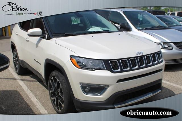 Pre-Owned 2017 Jeep Compass Limited 4x4