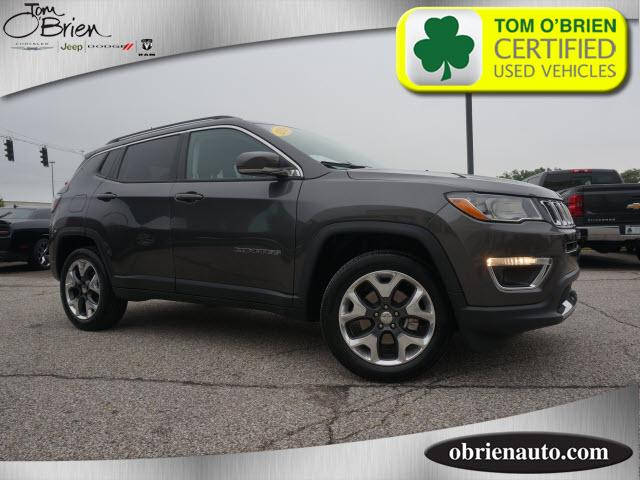 Pre Owned 2019 Jeep Compass Limited 4x4 4wd