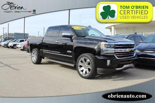 Pre-Owned 2017 Chevrolet Silverado 1500 4WD Crew Cab 143.5 High Country