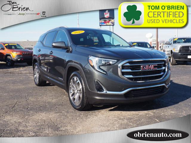 Pre-Owned 2018 GMC Terrain FWD 4dr SLT