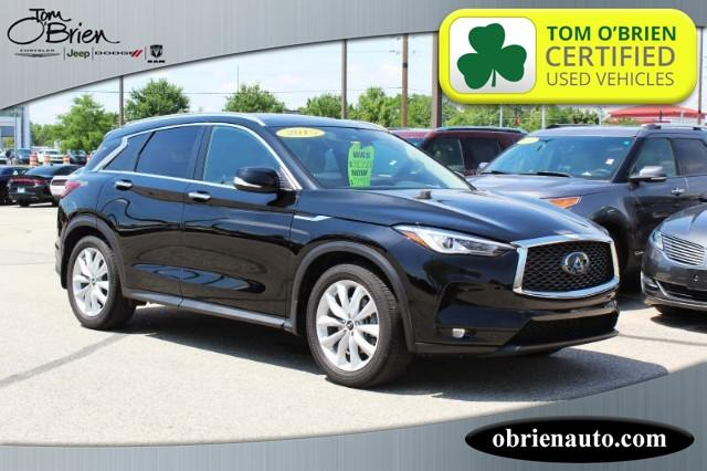 Pre-Owned 2019 INFINITI QX50 LUXE AWD