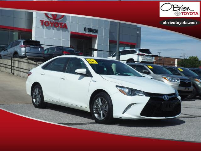 Pre-Owned 2016 Toyota Camry Hybrid 4dr Sdn SE