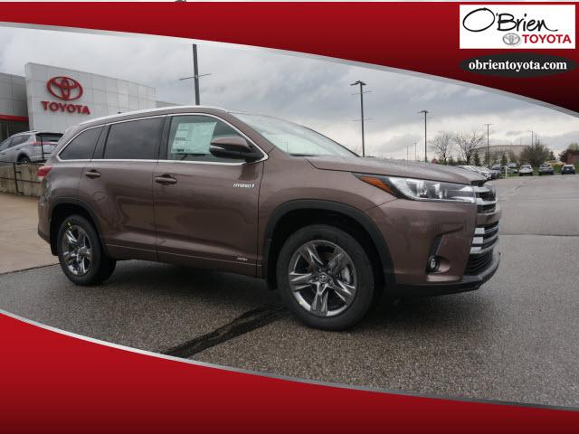 New 2019 Toyota Highlander Hybrid Limited Platinum V6 AWD