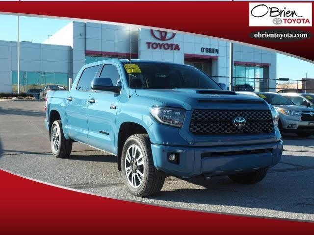 Pre-Owned 2019 Toyota Tundra SR5 CrewMax 5.5' Bed 5.7L FFV
