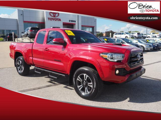 Pre Owned 2016 Toyota Tacoma 4wd Access Cab V6 At Trd Sport