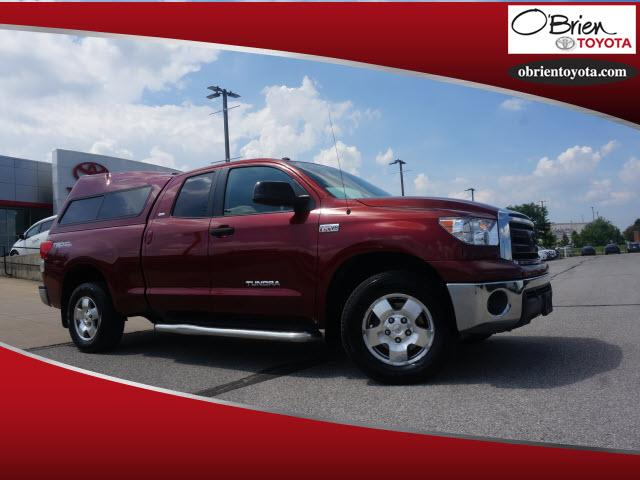 Pre-Owned 2010 Toyota Tundra 4WD Dbl 5.7L FFV V8 6-Spd AT