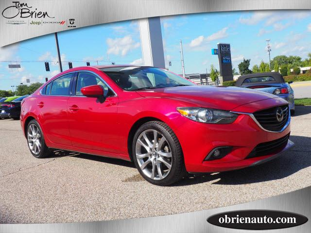 Pre-Owned 2014 Mazda6 4dr Sdn Auto i Grand Touring
