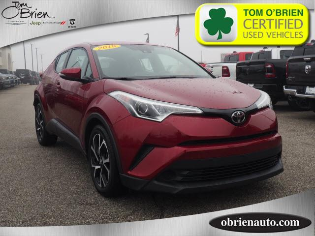 Pre-Owned 2018 Toyota C-HR XLE FWD