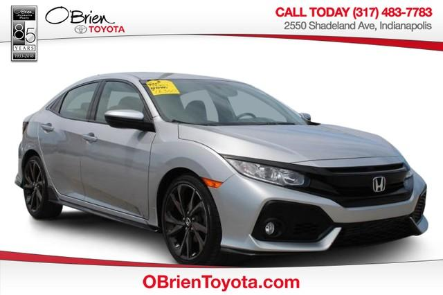 Pre-Owned 2018 Honda Civic Hatchback Sport CVT