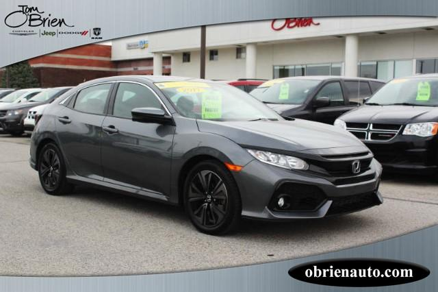 Pre Owned 2017 Honda Civic Hatchback Ex Cvt