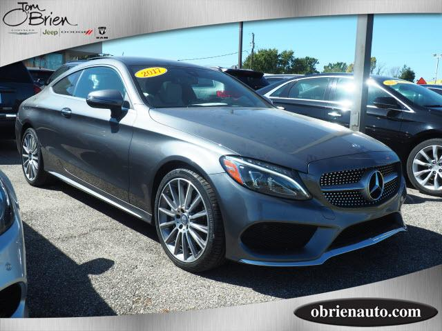 Pre-Owned 2017 Mercedes-Benz C-Class C 300 4MATIC® Coupe