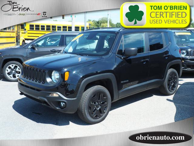 Pre-Owned 2018 Jeep Renegade Upland Edition 4x4