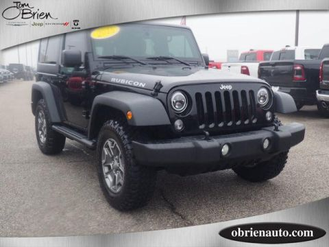 Pre-Owned 2015 Jeep Wrangler 4WD 2dr Rubicon