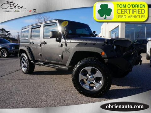 Pre-Owned 2016 Jeep Wrangler Unlimited 4WD 4dr Sahara