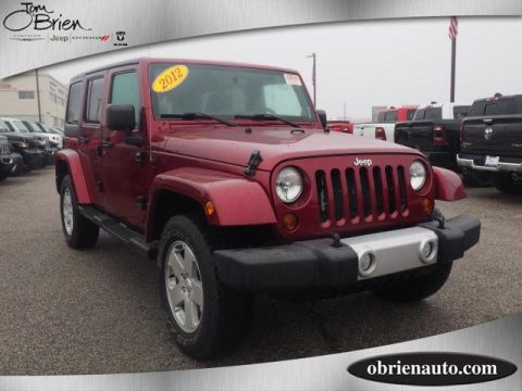Pre-Owned 2012 Jeep Wrangler Unlimited 4WD 4dr Sahara