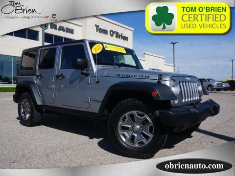 Pre-Owned 2015 Jeep Wrangler Unlimited 4WD 4dr Rubicon