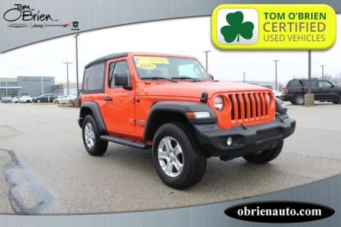 Pre-Owned 2019 Jeep Wrangler Sport S 4x4
