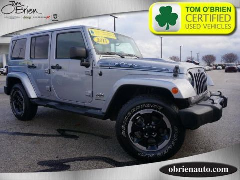 Pre-Owned 2014 Jeep Wrangler Unlimited 4WD 4dr Polar Edition *Ltd Avail*