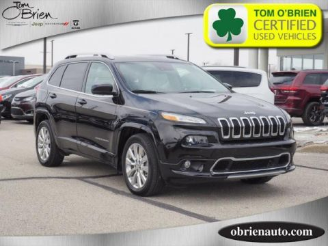 Pre-Owned 2016 Jeep Cherokee FWD 4dr Overland