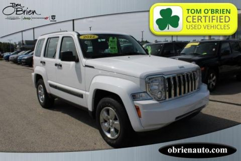 Pre-Owned 2012 Jeep Liberty 4WD 4dr Sport