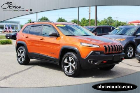 Pre-Owned 2014 Jeep Cherokee 4WD 4dr Trailhawk