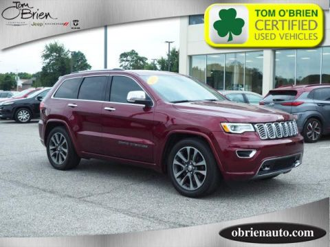 Pre-Owned 2017 Jeep Grand Cherokee Overland 4x4