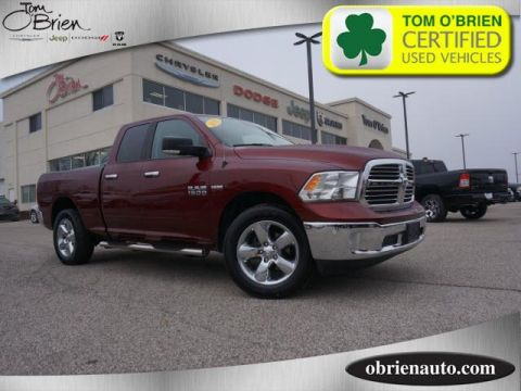 Pre-Owned 2017 Ram 1500 Big Horn 4x4 Quad Cab 6'4 Box