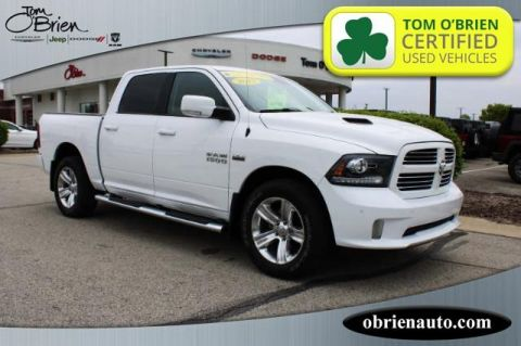 Pre-Owned 2017 Ram 1500 Sport 4x4 Crew Cab 5'7 Box