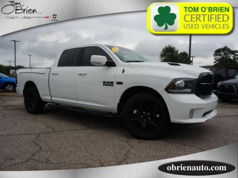 Pre-Owned 2017 Ram 1500 Night 4x4 Crew Cab 6'4 Box