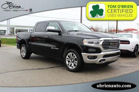 Pre-Owned 2019 Ram 1500 Longhorn 4x4 Crew Cab 5'7 Box